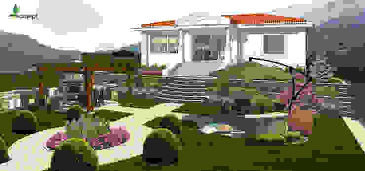 Orta bahçe konseptDE Peyzaj Fidancılık Tic. Ltd. Şti. Akdeniz
