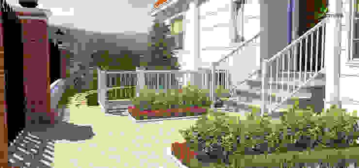 지중해스타일 정원 by konseptDE Peyzaj Fidancılık Tic. Ltd. Şti. 지중해