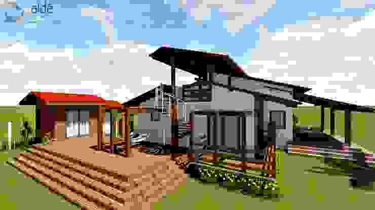บ้านนอก  โดย Aidê Arquitetura, ชนบทฝรั่ง