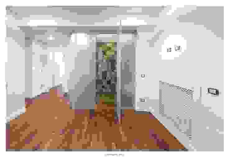 GINO SPERA ARCHITETTO Mediterranean style bathrooms Wood effect