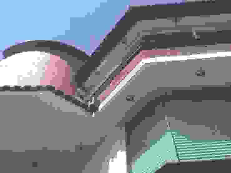 Fachada Principal Casas modernas de Rueda Arquitectura y Bienes Raíces Moderno