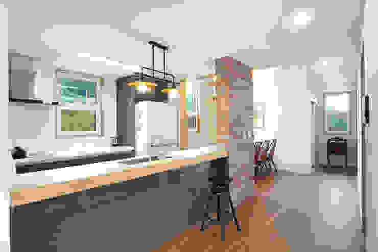 Modern kitchen by 주택설계전문 디자인그룹 홈스타일토토 Modern