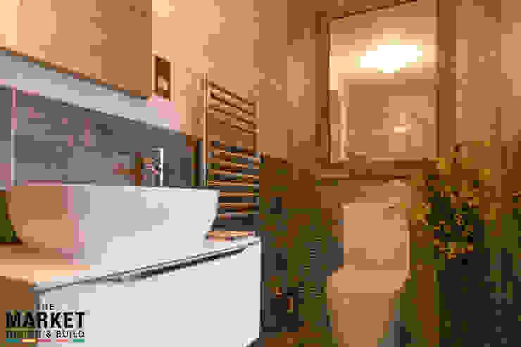 Cool & contemporary guest bathroom Modern bathroom by The Market Design & Build Modern