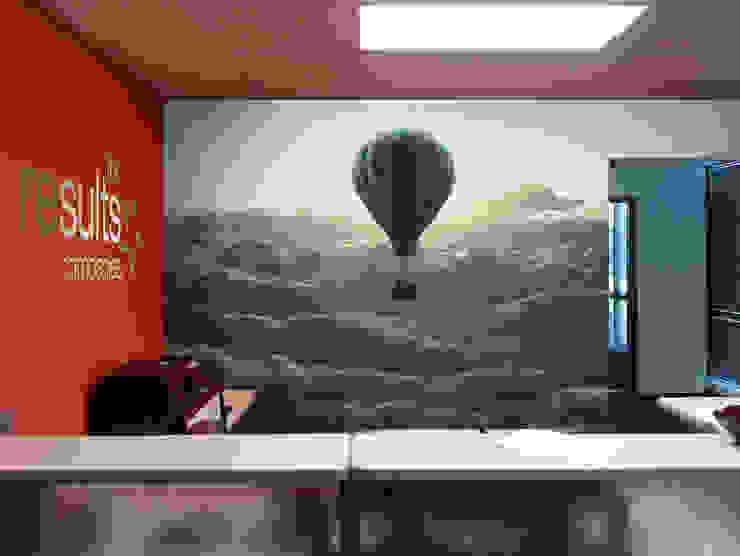 Air balloon Moderne Arbeitszimmer von Pixers Modern