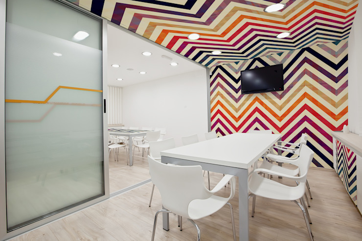 Colorful Chevron by Pixers Modern