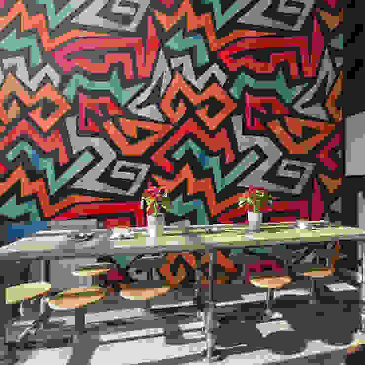 Abstract Lines Moderne Wände & Böden von Pixers Modern