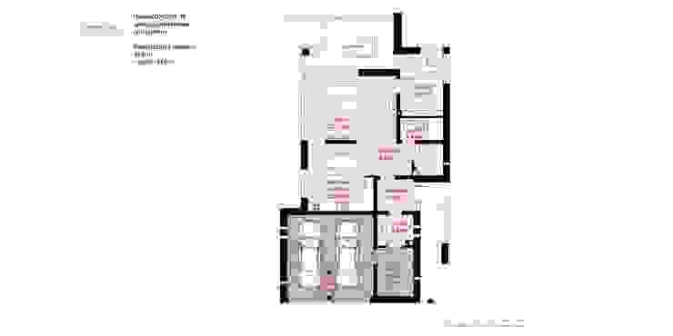 HomeKONCEPT | Projekty Domów Nowoczesnych:  tarz Evler,