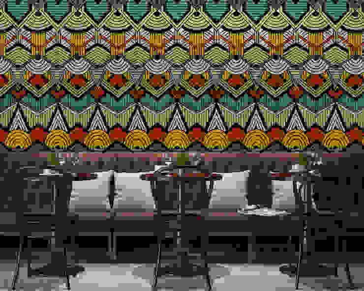 Tribal style Moderne Wände & Böden von Pixers Modern