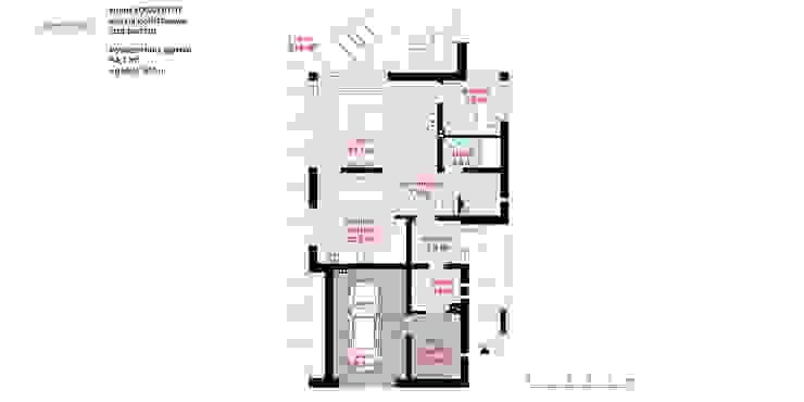 HomeKONCEPT | Projekty Domów Nowoczesnych:  tarz Evler, Modern