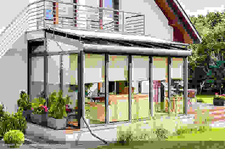 Casas estilo moderno: ideas, arquitectura e imágenes de Biuro Projektów MTM Styl - domywstylu.pl Moderno