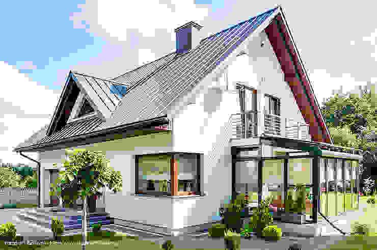 Jardines de invierno modernos de Biuro Projektów MTM Styl - domywstylu.pl Moderno