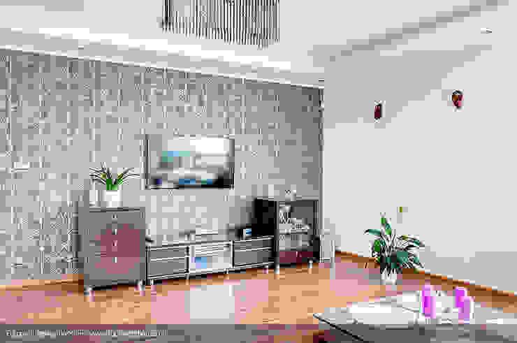 Modern Oturma Odası Biuro Projektów MTM Styl - domywstylu.pl Modern