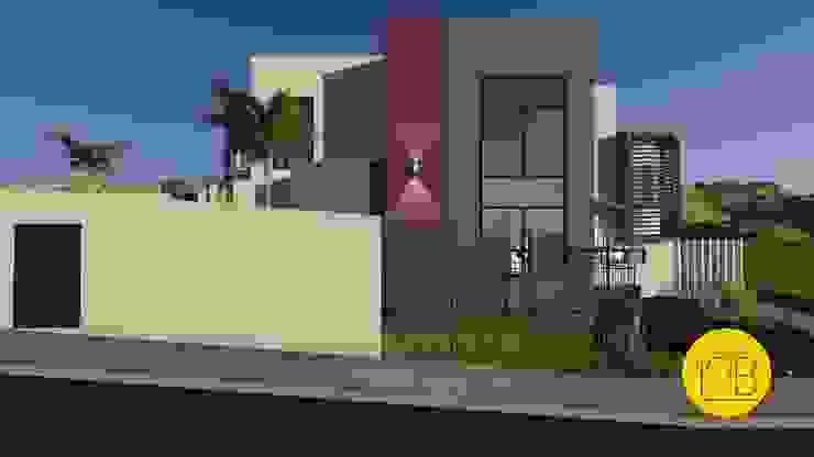 Moderne Häuser von Estúdio 12b Modern