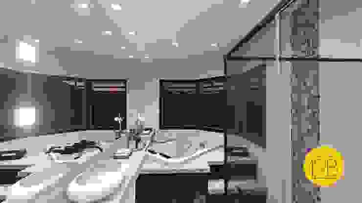 Moderne Badezimmer von Estúdio 12b Modern