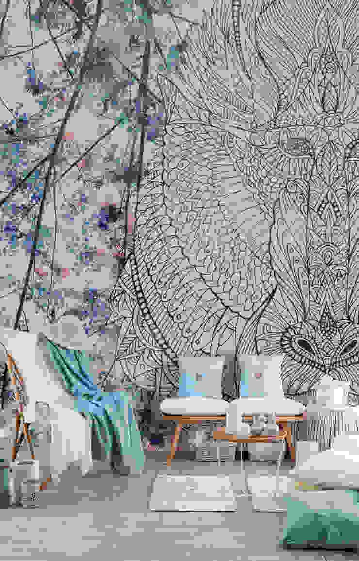 BandIt Design Tropical style walls & floors Multicolored
