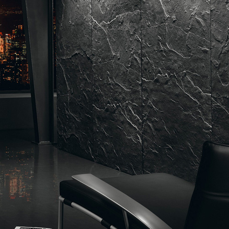 Architects Paper Walls & flooringWallpaper Black
