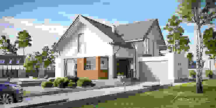 منازل تنفيذ HomeKONCEPT | Projekty Domów Nowoczesnych