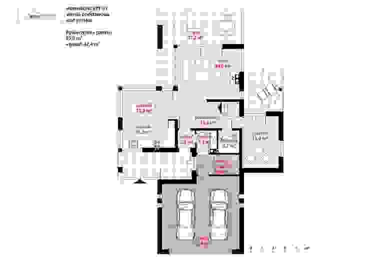 de HomeKONCEPT | Projekty Domów Nowoczesnych Moderno