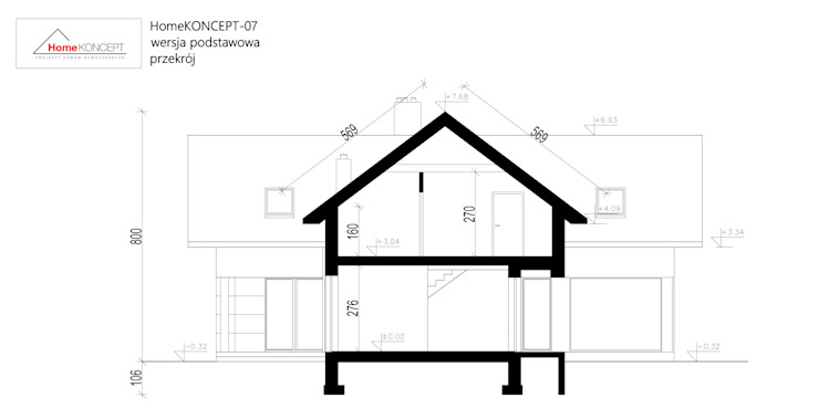 حديث  تنفيذ HomeKONCEPT | Projekty Domów Nowoczesnych, حداثي