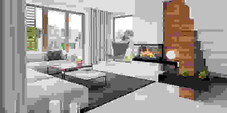 modern  by HomeKONCEPT | Projekty Domów Nowoczesnych, Modern