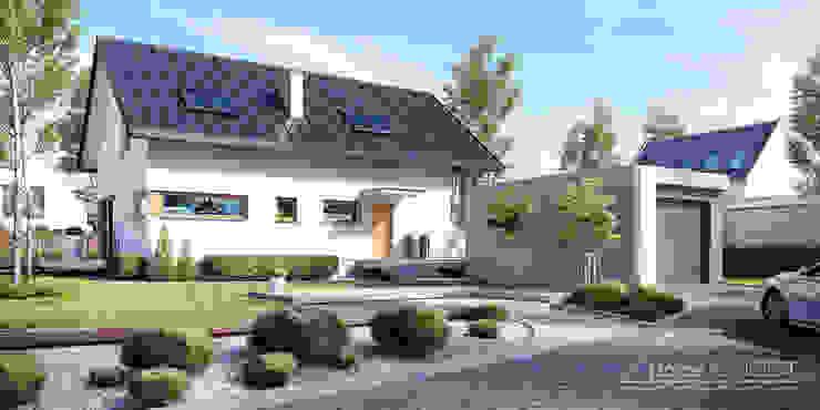 Modern Evler HomeKONCEPT | Projekty Domów Nowoczesnych Modern