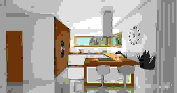 Modern Mutfak HomeKONCEPT | Projekty Domów Nowoczesnych Modern