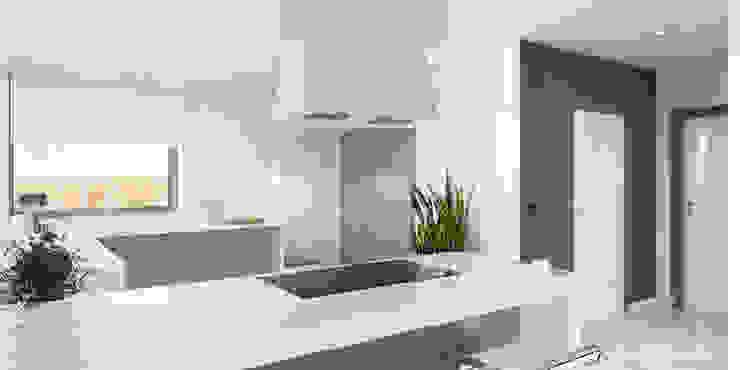 Cocinas de estilo  por HomeKONCEPT | Projekty Domów Nowoczesnych