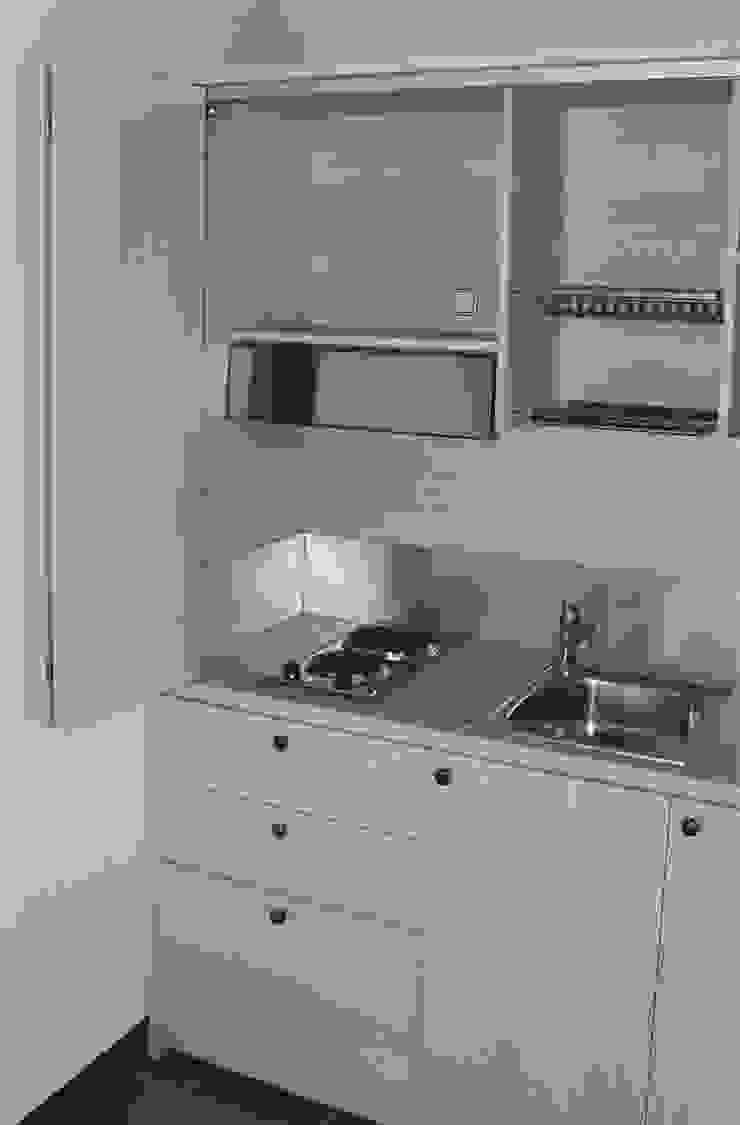Mini Cucine A Scomparsa mini cucina a scomparsa monoblocco cm.165 con ante - mini