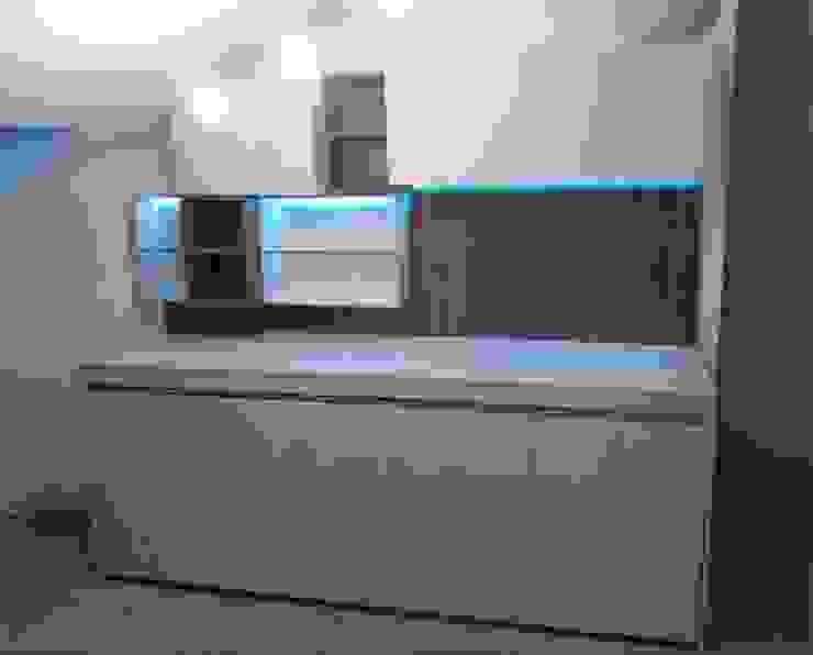 SIZEDESIGN SMART KITCHENS & LIVING 客廳儲藏櫃 複合木地板 Beige