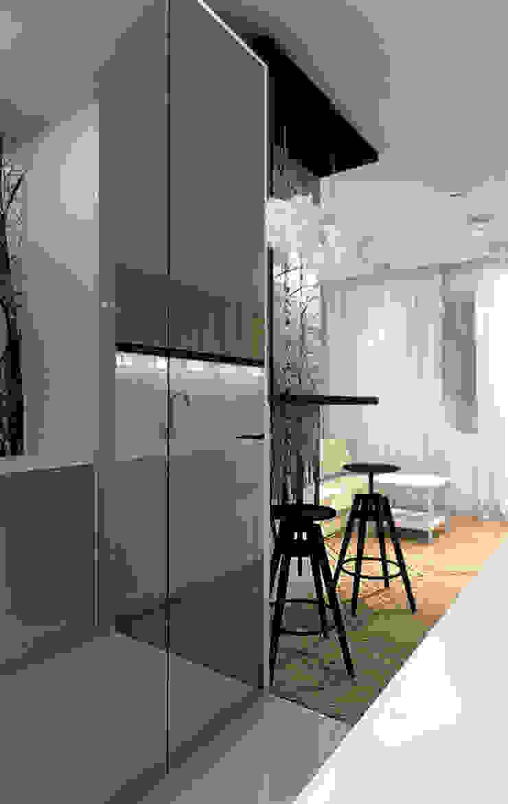 ZAZA studio Skandinavischer Flur, Diele & Treppenhaus