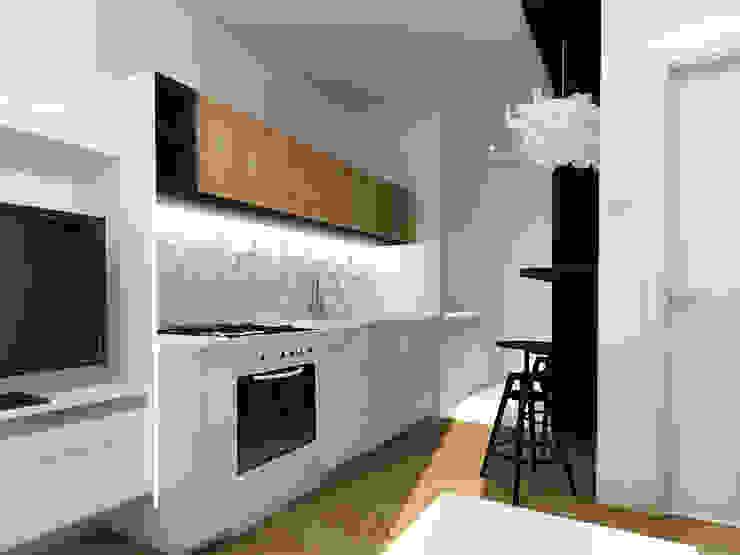 ZAZA studio Scandinavian style kitchen