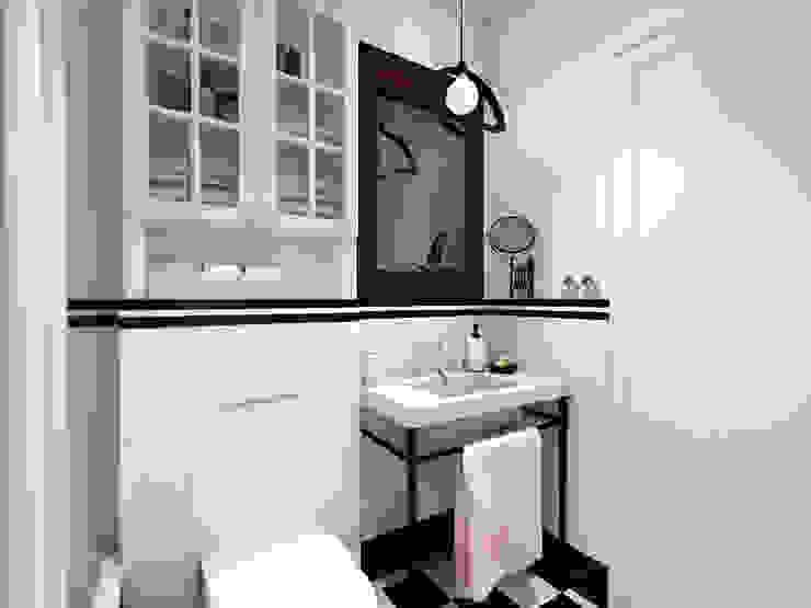 Scandinavian style bathroom by ZAZA studio Scandinavian