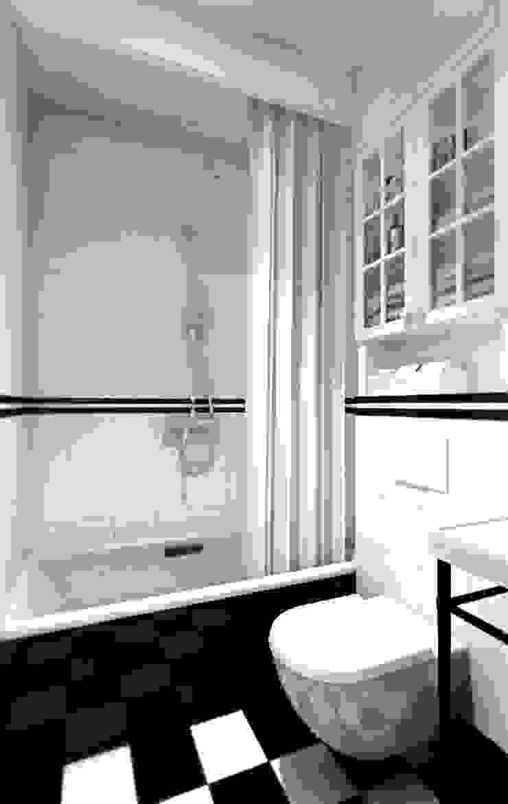 ZAZA studio Skandinavische Badezimmer