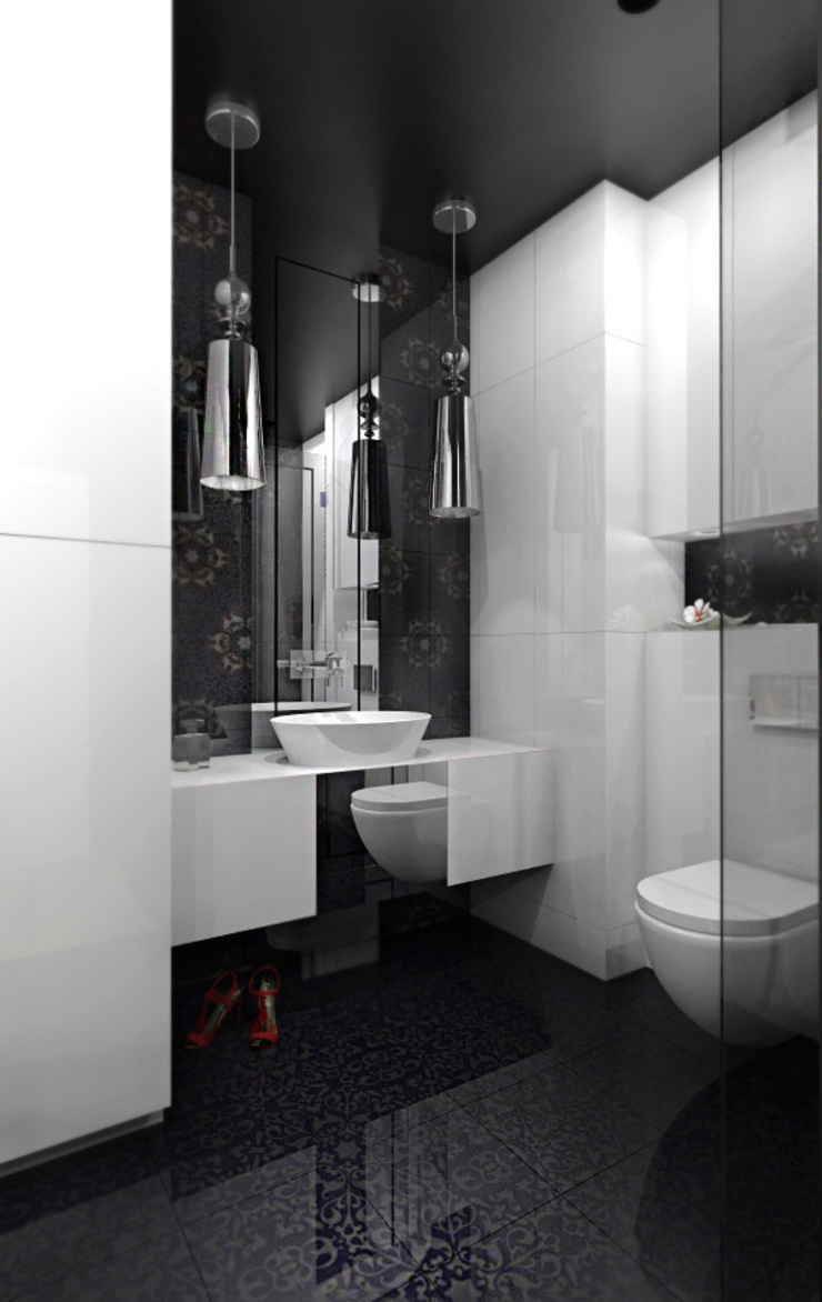 Modern style bathrooms by ZAZA studio Modern