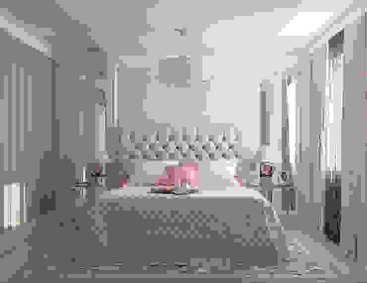 Habitaciones de estilo  por Студия дизайна Дарьи Одарюк, Clásico