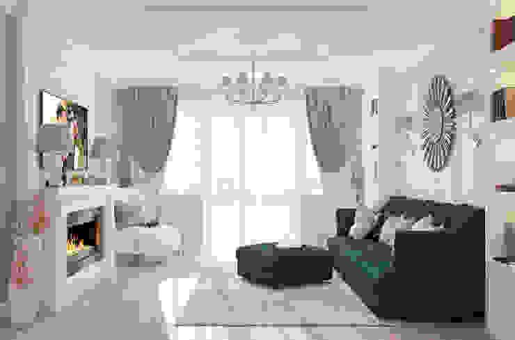 """Гостиная """"Glamour"""" Гостиная в классическом стиле от Студия дизайна Дарьи Одарюк Классический"""
