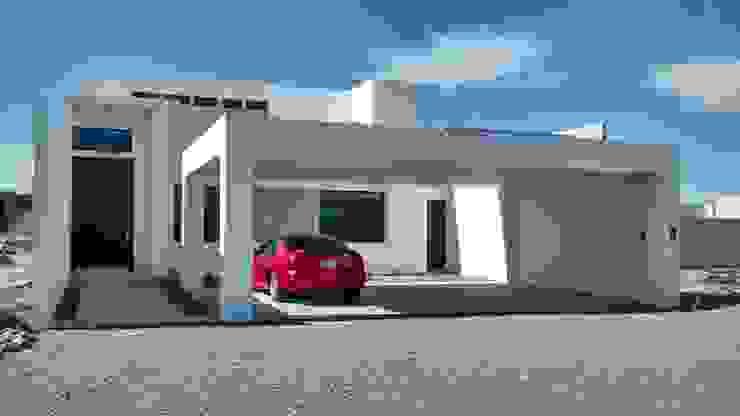 Casa Sonora Casas modernas de Guiza Construcciones Moderno Ladrillos