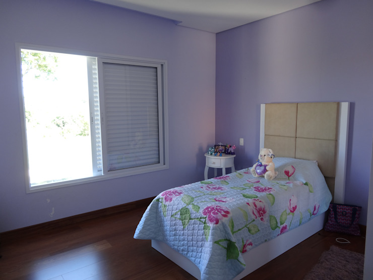 Casa SN Lozí - Projeto e Obra Quarto infantil minimalista