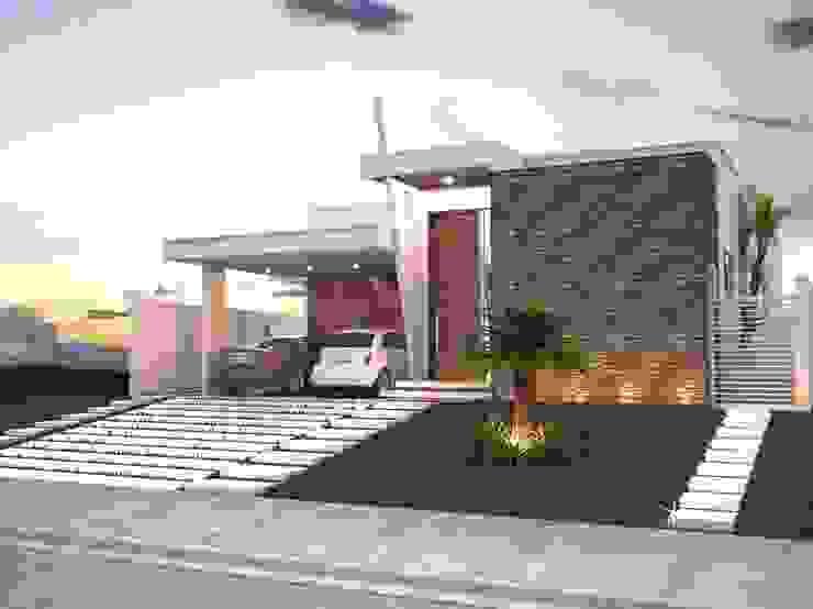 Casas de estilo  por Jorge Martins Arquitetura , Moderno