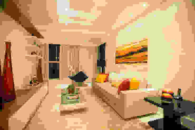 Salas de estilo moderno de L2 Arquitetura Moderno