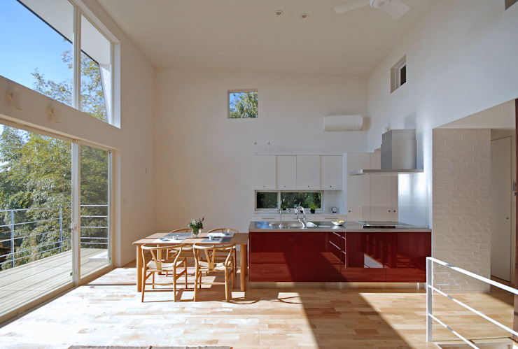 Modern style kitchen by SUR都市建築事務所 Modern