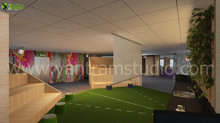 Interior 3D-Rendering CGI Design- by Architectural Design Studio