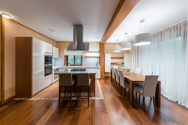 Kitchen by ARK BURO, Eclectic Wood Wood effect