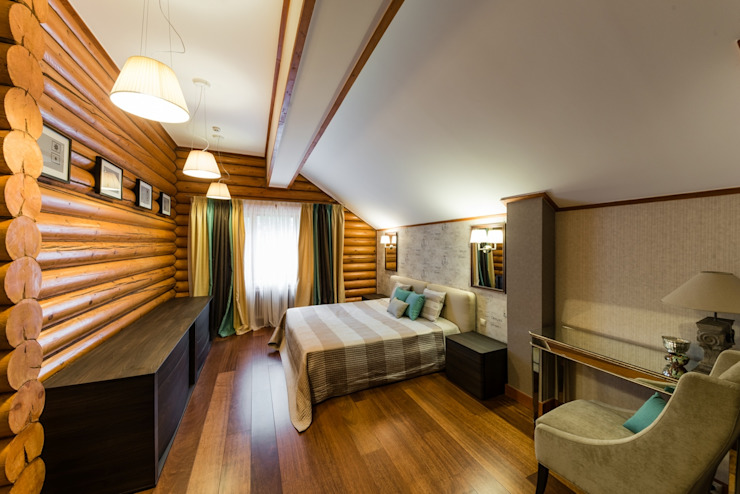 Bedroom by ARK BURO, Eclectic Wood Wood effect