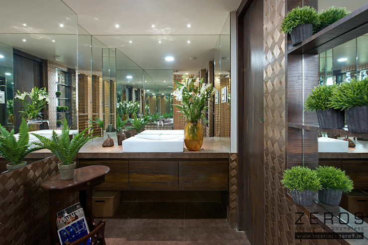 home Asian style bathroom by ZERO9 Asian