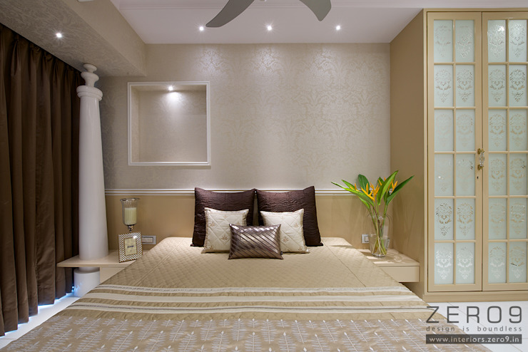 home Asian style bedroom by ZERO9 Asian