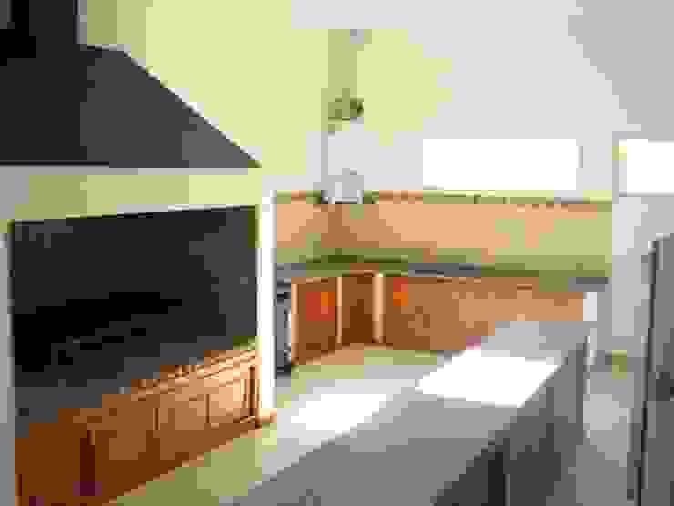 Cocina Baños modernos de Lineasur Arquitectos Moderno Granito