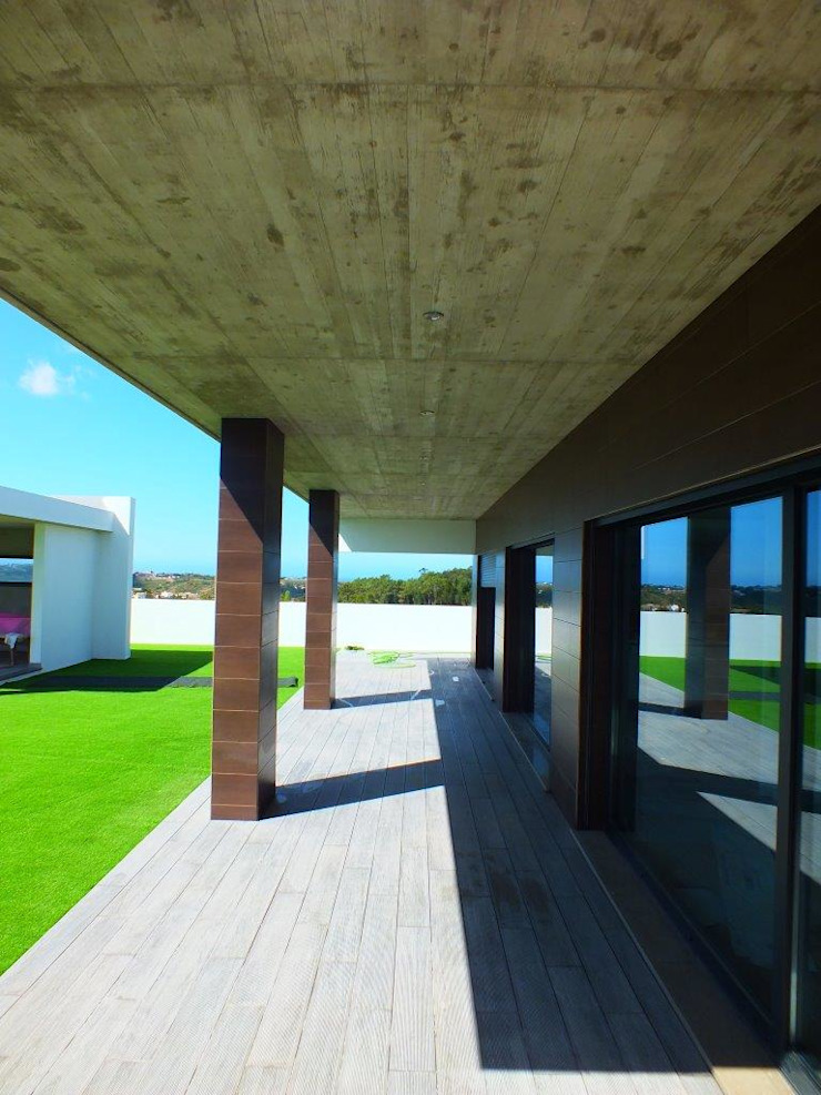 Moradia Urzal Casas modernas por Belgas Constrói Lda Moderno