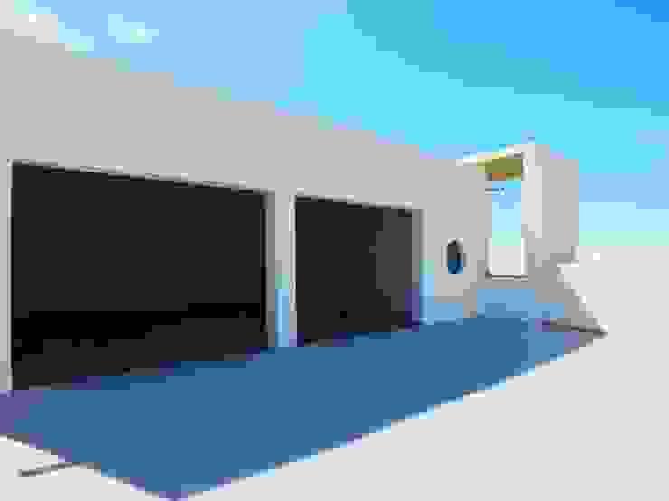 Moradia Urzal Garagens e arrecadações modernas por Belgas Constrói Lda Moderno