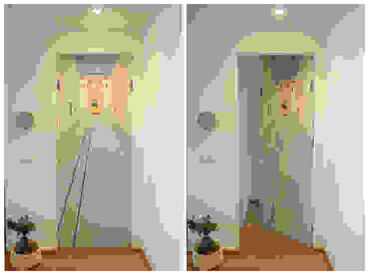 Eclectische gangen, hallen & trappenhuizen van studio ferlazzo natoli Eclectisch